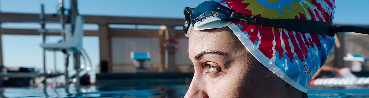 Silicone Swim Caps   TURBO