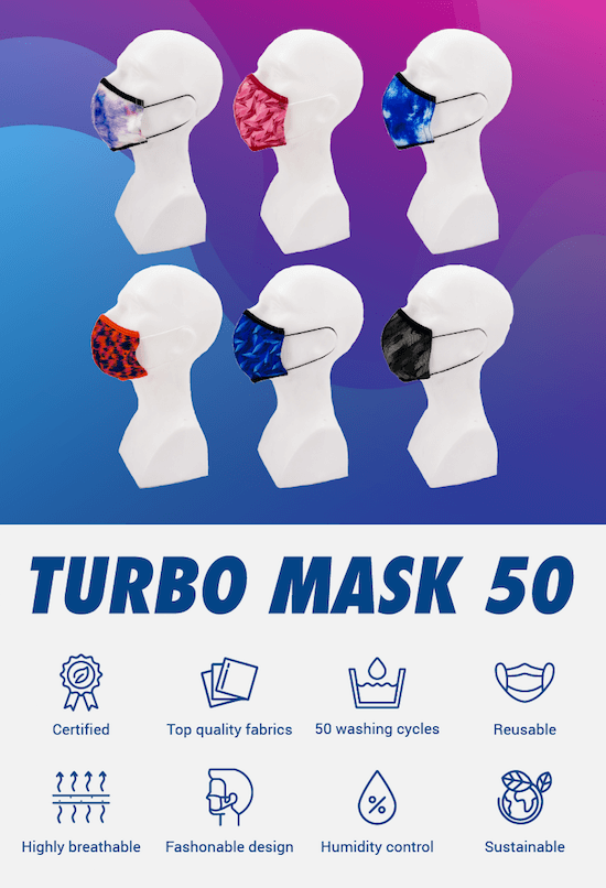 Mascarillas Turbo